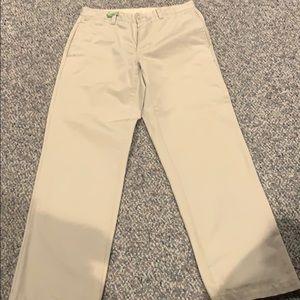 Men's gap flat front khakis 32x32